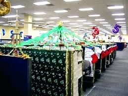 office christmas decorating ideas. Holiday Cubicle Decorating Contest Ideas Office Decorations With Christmas