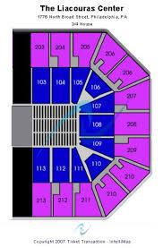Liacouras Center Seating Chart Liacouras Center Tickets And Liacouras Center Seating Chart
