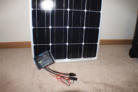 renogy 100 watt solar panel charger kit