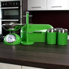 Green Canister Sets Kitchen Kitchen Canisters Glass Kitchen Ideas