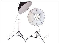 lighting sets. exellent lighting svoct350p lighting bankoctagon softbox set provides extra high output  5000k cool white continuous to sets pitchengine