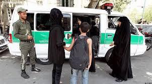 Image result for گشت ارشاد در تهران