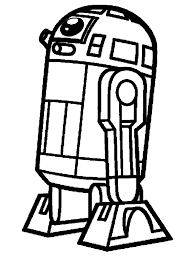 Simple Robot Coloring Pages Printable Coloring Page For Kids