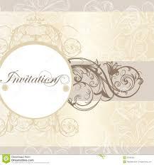 create invitation card free wedding invitation card for design stock vector illustration of
