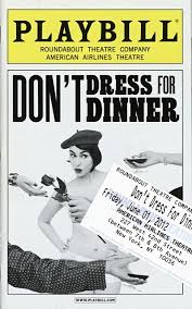 don t dress for dinner six characters in search of a round table