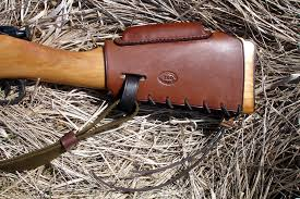 rick lowe mosin nagant stock leather ammo carrier 7