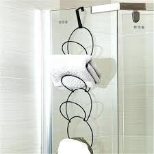 Bathroom Towel Holder Ideas Towel Rack With Shelf Bathroom Towel
