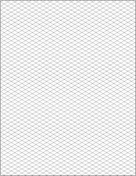 Download Free Isometric Graph Paper Grid Paper Printable Isometric