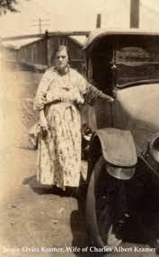 Jessie Elvira Branson Kramer Mulhall (Meacham) (1866 - 1925) - Genealogy