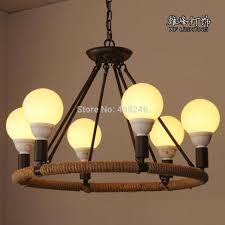 loft vintage wrought iron pendant lamp
