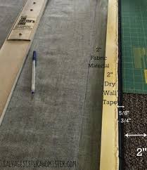 tutorial on turning a carpet remnant into an area rug