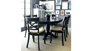 black round dining table round dining table set with leaf extension black round extension dining table