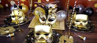 Table Decorations For Masquerade Ball