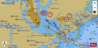 Icw Navigation Charts Icw Casino Creek To Beaufort River Side A Marine Chart
