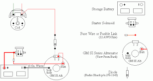 delco remy one wire alternator wiring diagram images alternator resistor or diode will work where the is shown in diagram