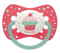 "<b>Canpol Пустышка симметричная силиконовая</b> ""Cupcake"" / от 0 до ..."