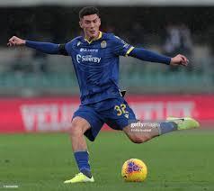 Matteo Pessina of Hellas Verona kicks the ball during the Serie A... Foto  di attualità - Getty Images