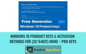 windows 10 keys activation