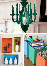 diy cardboard chandelier
