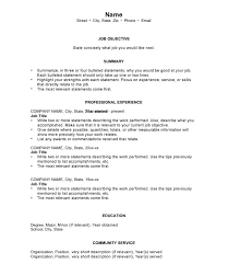 Chronological Order Resume Template Viaweb Co
