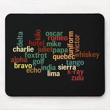 The nato (north atlantic treaty organization) phonetic alphabet is currently officially denoted as the international radiotelephony spelling alphabet (irsa) or the icao (international civil aviation organization) phonetic alphabet or itu (international telecommunication union) phonetic alphabet. Nato Phonetic Alphabet Dark Background Mouse Pad Zazzle Com