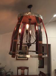 wine lighting. Wine Stave Chandelier Lighting Fixture T