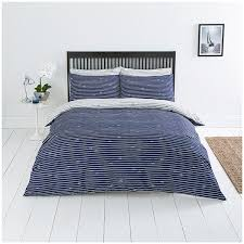 sainsbury s home riviera value rope printed bed linen