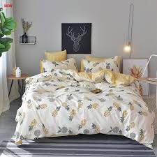image from how to put a duvet cover on layout home textile yellow pineapple bedding set cotton blue banana of how to put a duvet cover on 50913