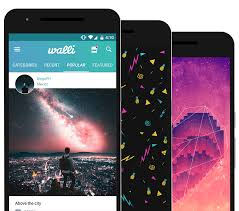 walli is a high quality and unique collection of artistic wallpapers for your mobile