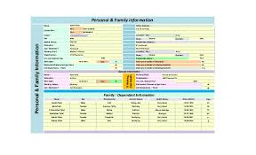 Financial Planning Sheet Excel Sample Comprehensive Personal Financial Plan Created In