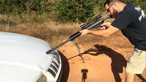 It is a powerful round for sniper rifles that can help you make accurate and precise the 50 bmg rifles are big bulky weapons that require the best scope for barrett 50 cal to reach their full potential. 50 Bmg Vs Running Car Youtube