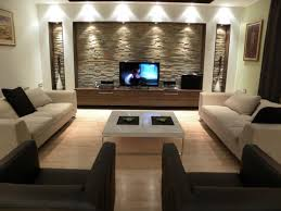 living room wall design