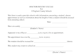 Doctors Fake Notes For School Dr Note Work Absence Kaiser Templates