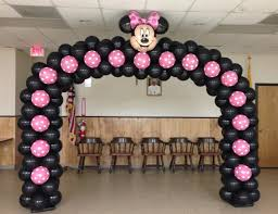 Pink And Black Minnie Mouse Decorations Mickey Minnie Mouse Party Theme Mickey Mouse Balloons Carrollton Tx