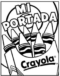 Portada Para Cuaderno Crayola Com Mx