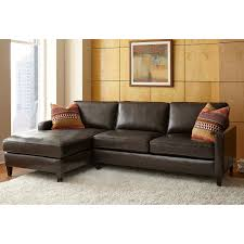 Living Room With Brown Leather Sofas Leather Sofas Sectionals