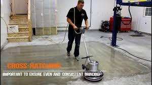 How To Diamond Grind A Concrete Floor