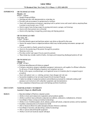 Ob Technician Resume Samples | Velvet Jobs