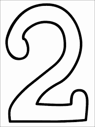 Small Picture Number 3 Coloring Pages numbers coloring part 2 the number 3