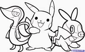 Dessin A Colorier En Ligne Pokemon