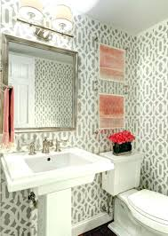powder room wallpaper top stunning decorating ideas for wallpapers .