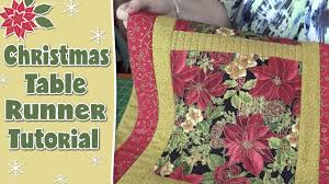 Christmas Table Runner - Quilting Tutorial - YouTube &  Adamdwight.com