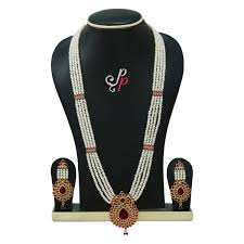 pure pearls rani haar in real pearls and semi precious ruby studded pendant a9030 1200x1200 jpg