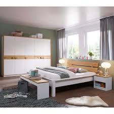 Schlafzimmer Set Lionada In Weiß Kiefer Massiv Modern Pharao24de