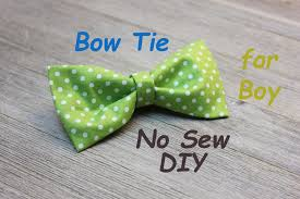 Bow Tie Sewing Pattern Cool Inspiration Ideas