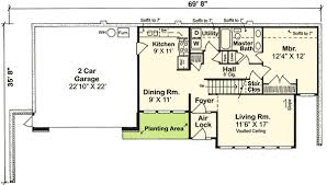 Earth Sheltered Home Plan  11392G  Architectural Designs  House Earth Contact Home Plans