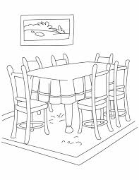 dining room table clipart black and white. Dining Room Clipart Black And White 10 Table G