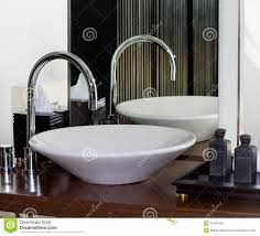 Modern Bathroom Taps Modern Bathroom Tap And Sink Stock Photo Image 14168440