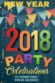 New Year Celebration Poster Template Event Poster Template