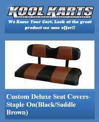 custom golf cart front seat replacement